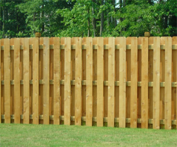wood privacy fences. Wood Fence Shadow Box Privacy Fences