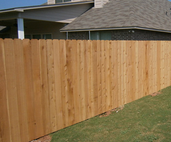 Wood Fence Stockade